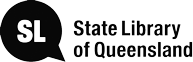 Logo for the State Library of Queensland
