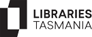 Logo for the Libraries Tasmania