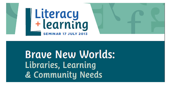 Brave New Worlds: libraries, learning and community needs