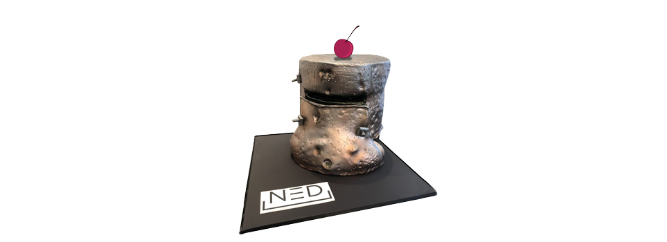The award nomination is the cherry on top of the NED cake for the project.