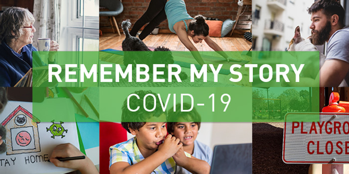"""Remember My Story"" - State Library of South Australia's COVID-19 community collecting campaign"